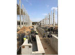 Gamybos ir sandėliavimo paskirties pastatų ir statinių statybos darbai I etapas