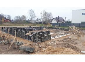 Gyvenamosios paskirties (vieno buto) pastato projektas